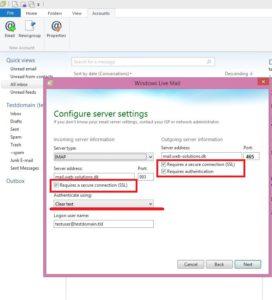 Konfiguracja serwera