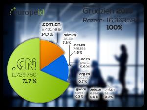 Dynamiczny wzrost .CN 2015-12