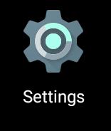 Kliknij w ikonę ustawień.