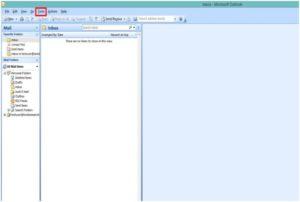 Otwórz program Microsoft Outlook 2007. Z paska menu wybierz Narzędzia