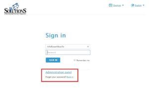 Logowanie się na konto administratora (jeśli istnieje) i ustawienie nowego hasła użytkownika