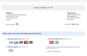 Potwierdź szczegóły płatności i wybierz preferowaną metodę płatności
